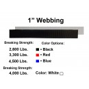 "1"" Tie Down Webbing Polyester"
